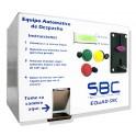 EQuAD-SBC Cobrador Horizontal Para Despacho De Agua, Da Cambio